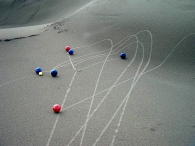 Beach bocce Photo: Mike Abell All Rights Reserved